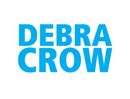 logo for debra crow